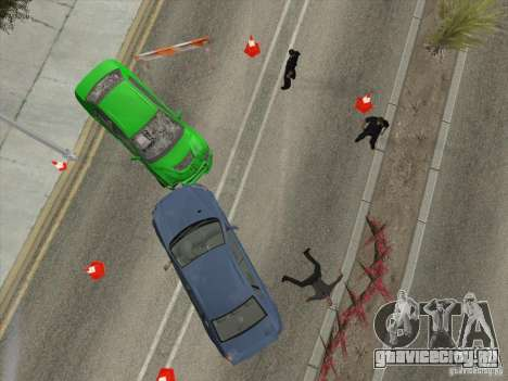 Аварии на дорогах для GTA San Andreas пятый скриншот