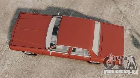 Chevrolet Caprice Classic 1979 для GTA 4 вид справа