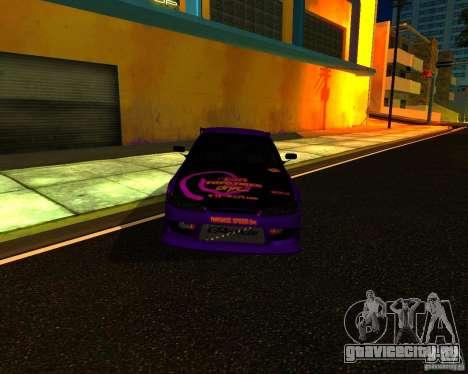 Nissan Silvia C-West для GTA San Andreas вид слева