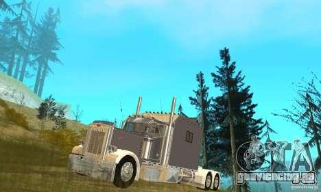 Peterbilt 379 Custom Legacy для GTA San Andreas