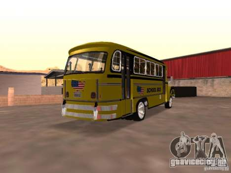Bedford School Bus для GTA San Andreas вид справа