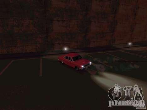 ГАЗ 24 CR v2 для GTA San Andreas вид сзади слева