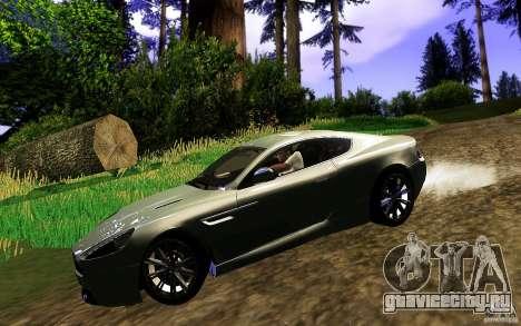Aston Martin Virage V1.0 для GTA San Andreas вид справа