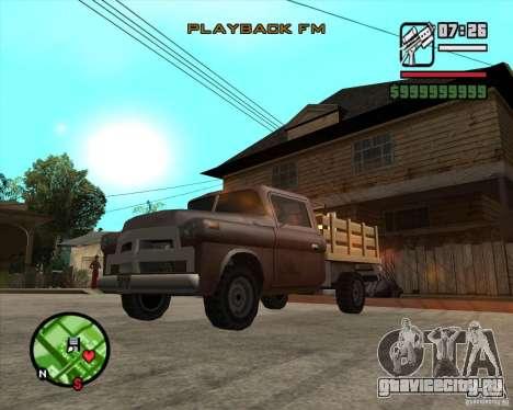 Walton HD для GTA San Andreas вид сзади слева