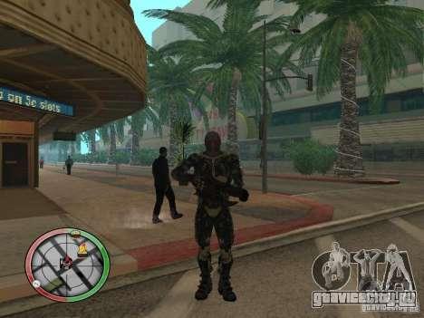 Оружие alien из Crysis 2 для GTA San Andreas пятый скриншот