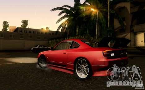 Nissan Silvia S15 Drift Style для GTA San Andreas вид слева