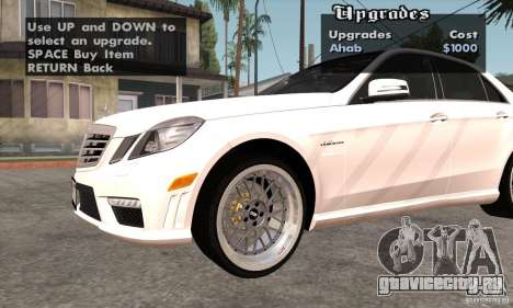Wheels Pack by EMZone для GTA San Andreas четвёртый скриншот