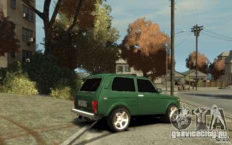 ВАЗ 21214 Нива для GTA 4 вид справа