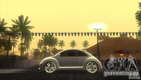 Volkswagen Beetle Tuning для GTA San Andreas вид слева