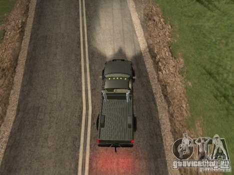 Chevrolet Silverado 2012 для GTA San Andreas вид сзади
