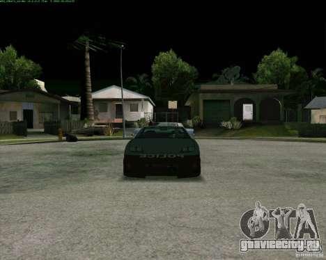 Supergt - Police S для GTA San Andreas вид слева