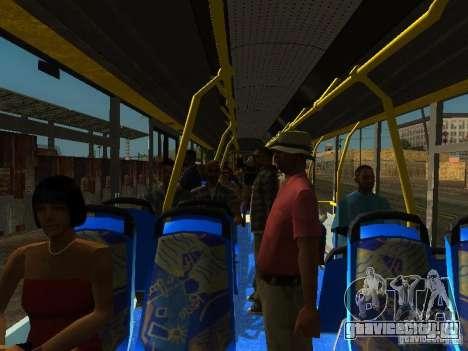 Троллейбус ЛАЗ E301 для GTA San Andreas вид сбоку