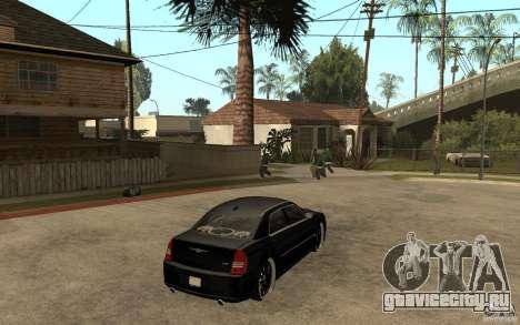 Chrysler 300C DUB для GTA San Andreas вид справа