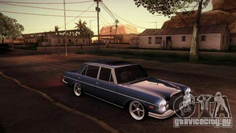 Mercedes Benz 300 SEL - Custom RC3D Edit для GTA San Andreas вид сзади