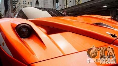 Ferrari FXX Evoluzione для GTA 4 вид изнутри