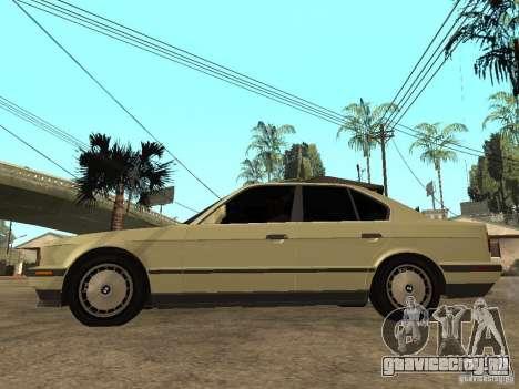 BMW 520i для GTA San Andreas вид слева