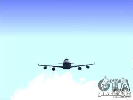 Boeing 747-400 Malaysia Airlines для GTA San Andreas
