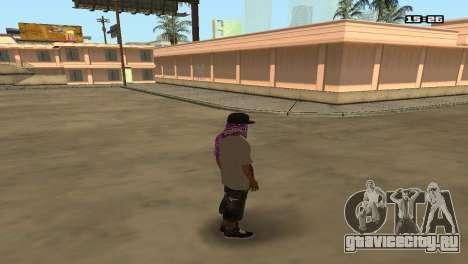 Skin Pack Ballas для GTA San Andreas второй скриншот