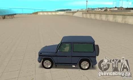 Mercedes-Benz G500 1999 Short [with kangoo v3] для GTA San Andreas вид слева