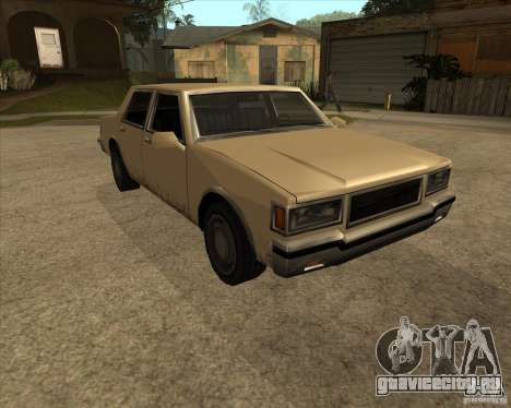 New Greenwood для GTA San Andreas вид справа