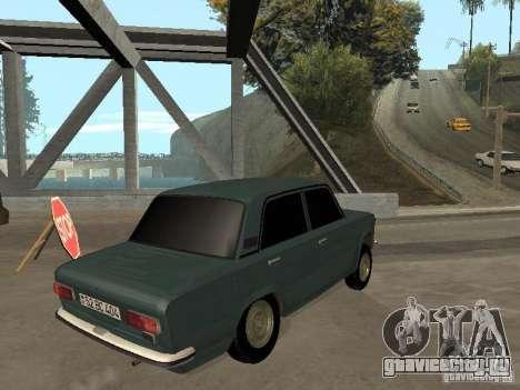 ВАЗ 21011 для GTA San Andreas вид изнутри