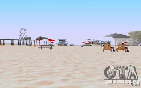 Reality Beach v2 для GTA San Andreas второй скриншот