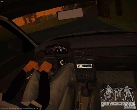 Ваз 2171 Рестайл для GTA San Andreas вид сзади