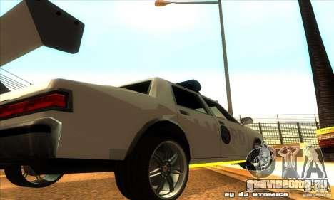 Police Hero v2.1 для GTA San Andreas вид сзади