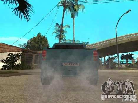 Dacia 1400 Pickup Battle Machine для GTA San Andreas