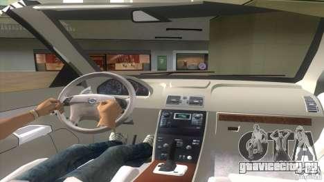 Volvo XC90 для GTA Vice City вид сзади слева