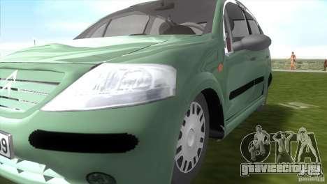 Citroen C3 для GTA Vice City