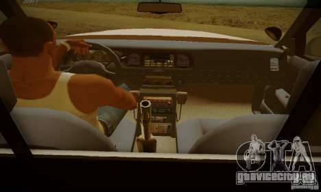 Ford Crown Victoria Missouri Police для GTA San Andreas вид сзади слева