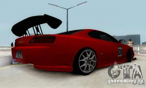 Nissan Silvia S15 Tunable для GTA San Andreas колёса
