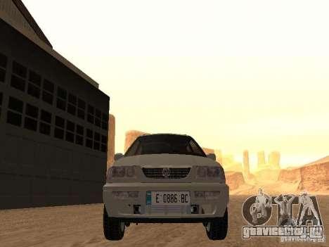 Volkswagen Passat B4 для GTA San Andreas вид изнутри
