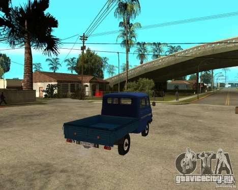 УАЗ 39094 для GTA San Andreas вид сзади слева