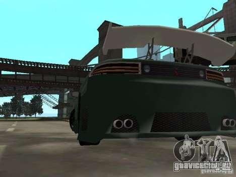 Mitsubishi 3000GT для GTA San Andreas вид снизу