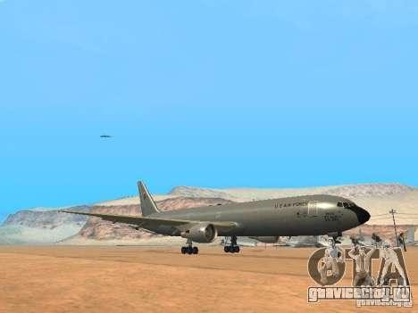 Boeing KC767 U.S Air Force для GTA San Andreas вид слева
