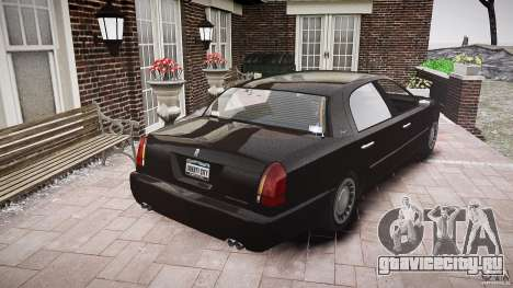 Washington FBI Car для GTA 4 вид сбоку