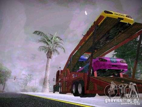 Прицеп Автовоз для GTA San Andreas вид слева
