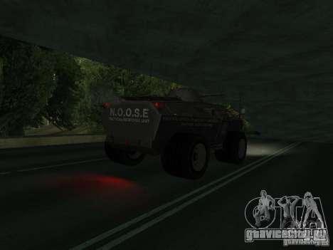 APC из GTA TBoGT IVF для GTA San Andreas вид справа