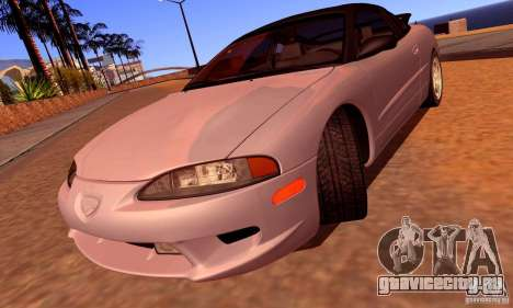 Eagle Talon TSi AWD 1998 для GTA San Andreas вид сверху