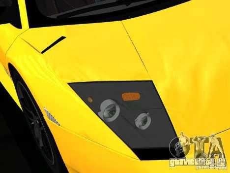Lamborghini Murcielago LP670-4 sv для GTA San Andreas салон