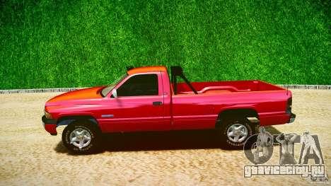 Dodge Ram 2500 1994 для GTA 4 вид сбоку