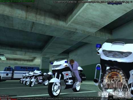 CopBike для GTA San Andreas вид справа