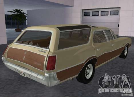 Oldsmobile Vista Cruiser 1972 для GTA San Andreas вид справа