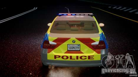 BMW 350i Indonesian Police Car [ELS] для GTA 4 двигатель