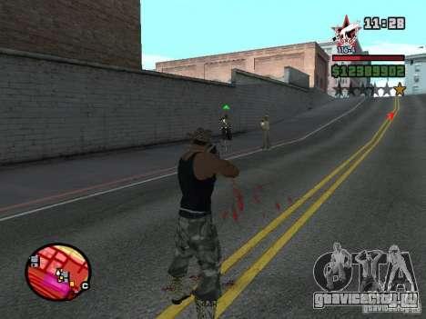 San Fierro and Los Santos Gang Zone для GTA San Andreas четвёртый скриншот