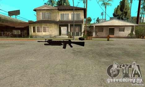 M16A4 + M203 для GTA San Andreas второй скриншот