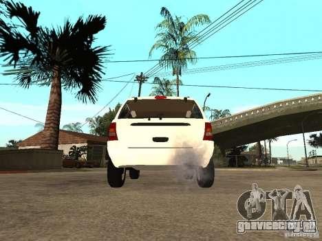 Jeep Grand Cherokee 99 для GTA San Andreas вид сзади слева