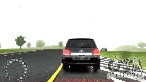 Toyota Land Cruiser 200 RESTALE для GTA 4 вид сбоку